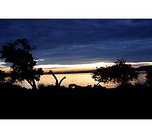 Lake Mburo Sunset - Uganda Photographic Print