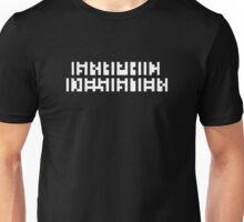 GRAPHIC DESIGNERS' VISION TEST CRYPTIC DARKS Unisex T-Shirt