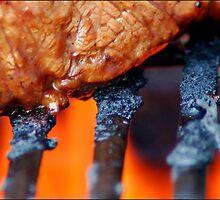 Mouth-Watering Steak by karissaburgess