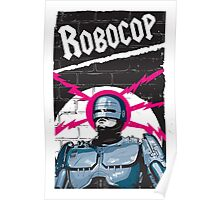 Robocop In Love Poster
