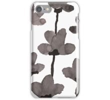 Autumn flowers iPhone Case/Skin