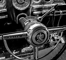 steering column of buick eight by RosiesPhotos