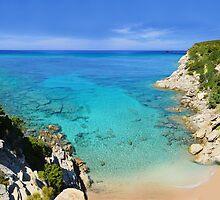 Escalet Beach at Cap Camarat, Ramatuelle near St-Tropez by Brünø Beach .