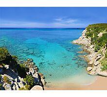 Escalet Beach at Cap Camarat, Ramatuelle near St-Tropez Photographic Print