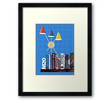 M20 BOOKSHELF #3 Framed Print