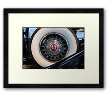Spare Tire... 1932 Packard Framed Print