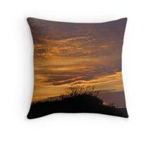 Norfolk Sunset Throw Pillow