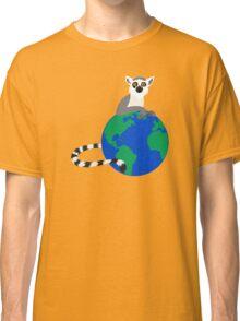 Earth Day Lemur Classic T-Shirt