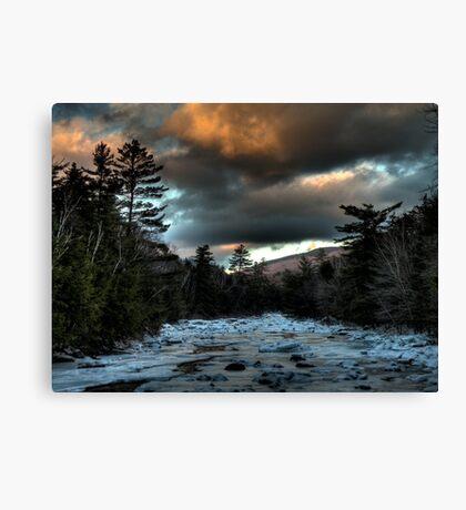 Into the Pemigewasset Wilderness Canvas Print