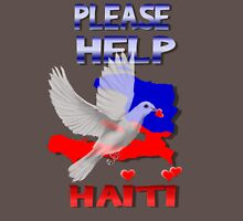 Please Help Haiti Long Sleeve T-Shirt