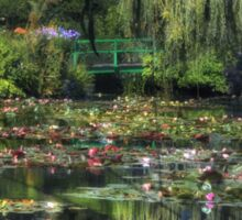 Monet's Lily Pond Sticker