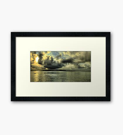 water attraction... Framed Print