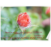 A reminder in faith and renewal ... All Rights Reserved Lei Hedger Photography Poster
