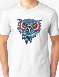 Blue Owl Head T-Shirt