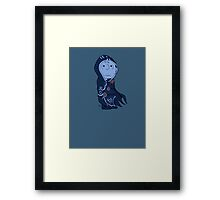 Charlie Brown's a Blue Player (Picture only) Framed Print