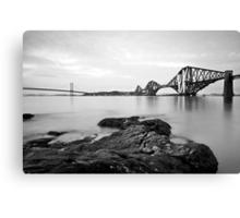 Forth Bridges at Dusk Canvas Print