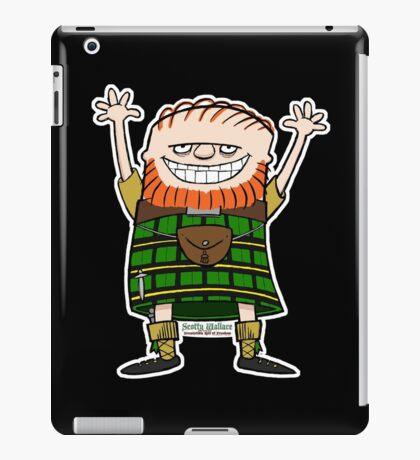 Scotty Wallace Green Kilt iPad Case/Skin