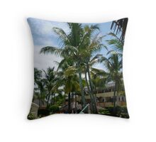 Trees & Wind Throw Pillow