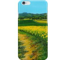 Downland Gold iPhone Case/Skin