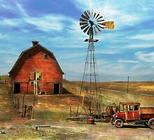 Country - ND - Dirt farming 1936 by Mike  Savad
