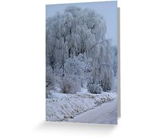 Weeping Willow at rest Greeting Card