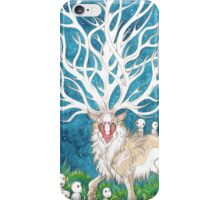 The Forest God iPhone Case/Skin