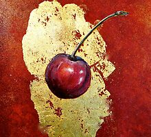 Cherries...Torn by © Janis Zroback
