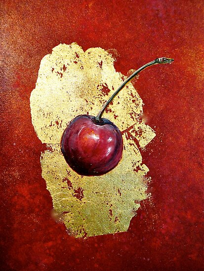 Cherries...Torn by ©Janis Zroback