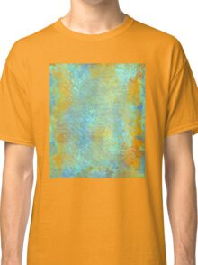 Abstract in Blue and Copper Classic T-Shirt