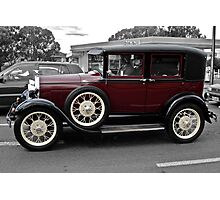 Model A Ford Photographic Print