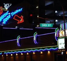 Smoking Good Times - Fremont Street, Las Vegas, NV by Chelsea Herzberg