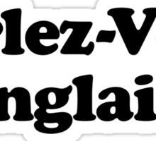 DO YOU SPEAK ENGLISH? Sticker