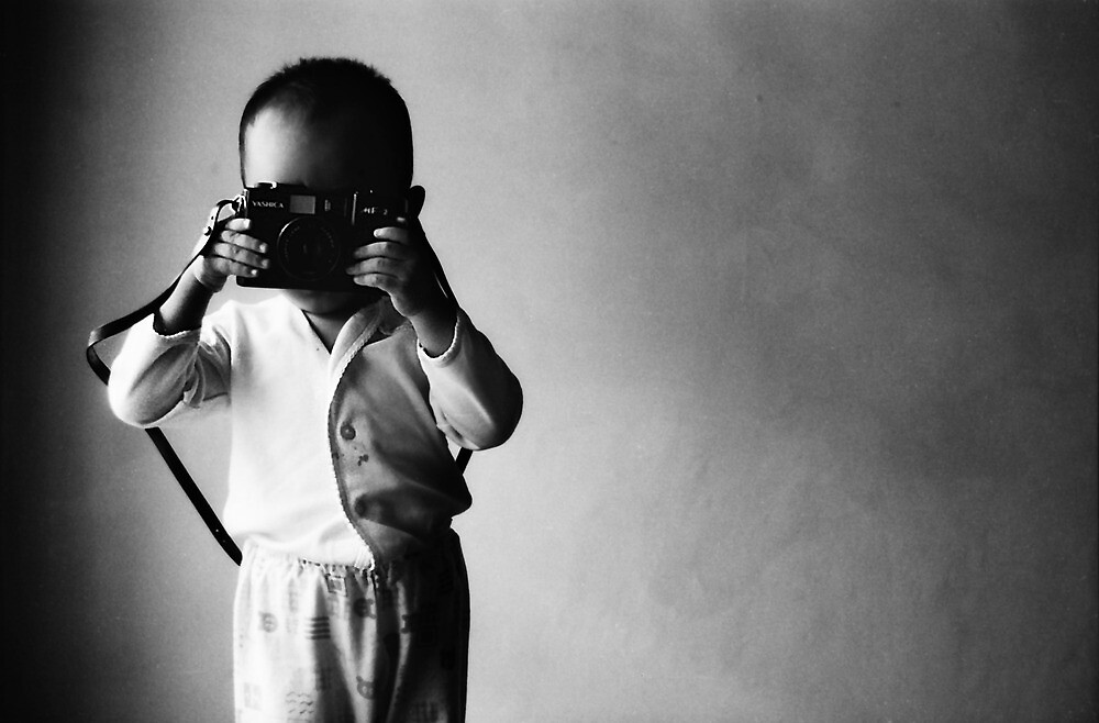 Photographing My Dad Photographing Me by irenaeus herwindo