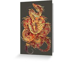 Red Curls  Greeting Card