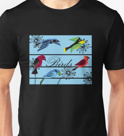 Birds Royal Unisex T-Shirt