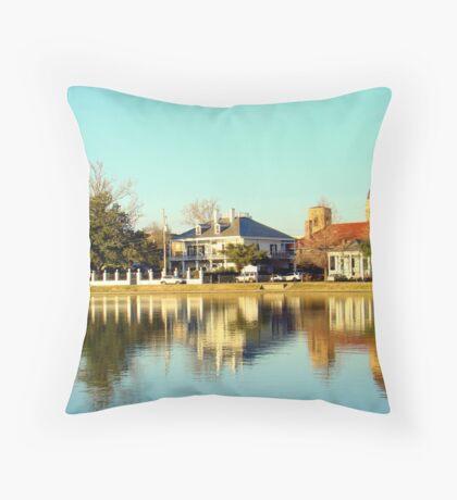 Bayou Saint John (My Childhood Neighborhood) Throw Pillow