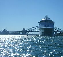 Sydney Harbour P&O Cruise by Melissa Coulter