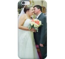 Ashley and Chris Wedding iPhone Case/Skin