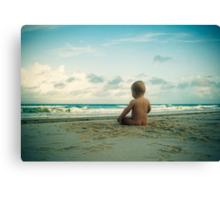 Beach Bum... Canvas Print