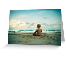 Beach Bum... Greeting Card