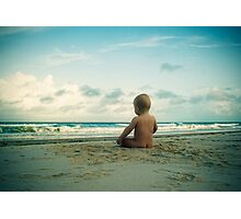 Beach Bum... Photographic Print