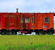 The Old Caboose by Janie Oliver
