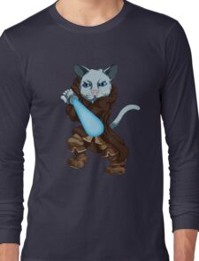 Jedi Kitten Long Sleeve T-Shirt
