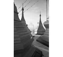 Shwe pong-pwint pagoda Photographic Print
