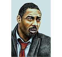 Idris Elba plays Luther Photographic Print
