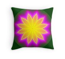 Floral Symmetry Throw Pillow