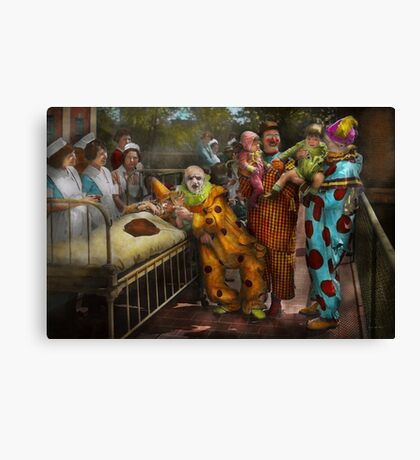 Doctor - Fear of clowns 1923 Canvas Print