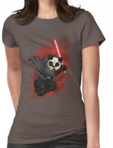 Panda Sith Womens Fitted T-Shirt