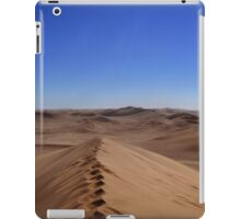 Where dunes and sky come together  iPad Case/Skin