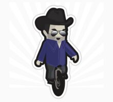 My unicycling, 10-gallon hat wearing chum Kids Clothes